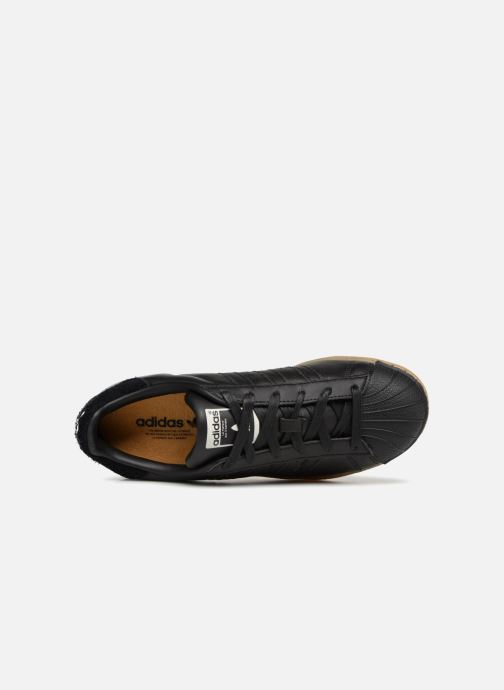 Baskets Adidas Originals Superstar W Noir vue gauche