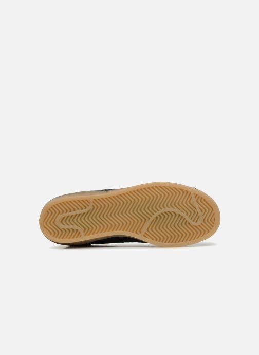 Baskets adidas originals Superstar W Noir vue haut