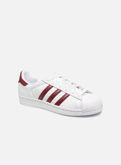 Sneaker adidas originals Superstar W weinrot detaillierte ansicht/modell