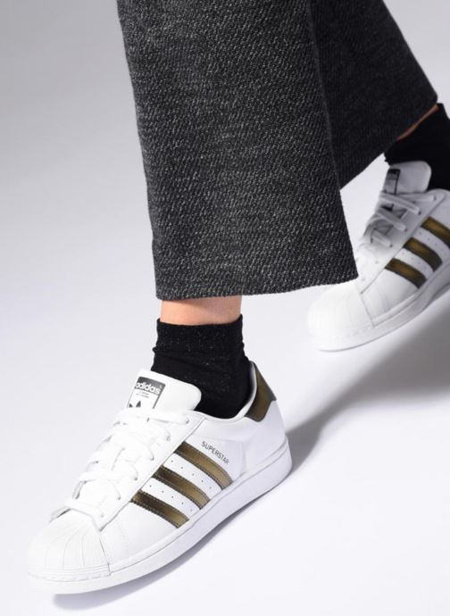 Sneakers adidas originals Superstar W Wit onder