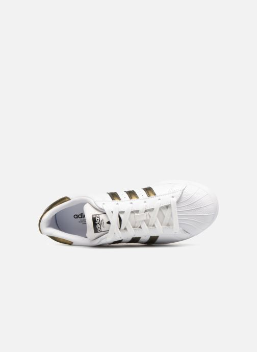 Sneakers adidas originals Superstar W Wit links
