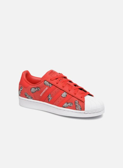 adidas originals Superstar W (Rouge) - Baskets chez Sarenza ...