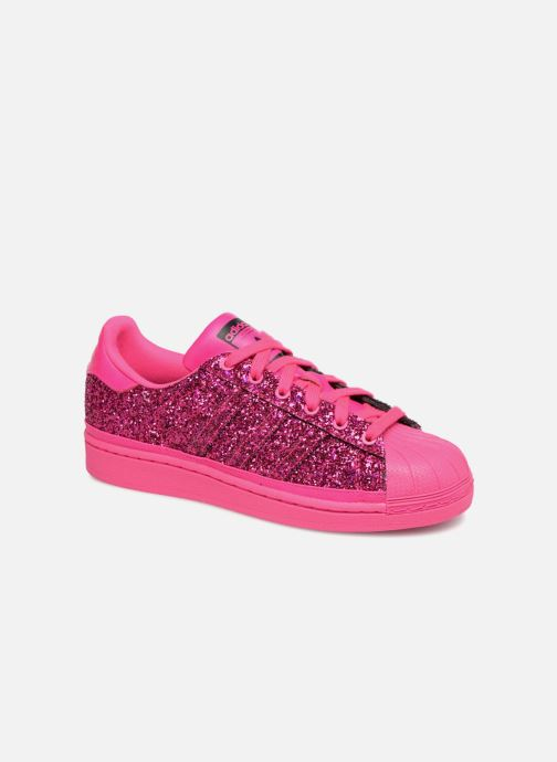 Baskets adidas originals Superstar W Rose vue détail/paire