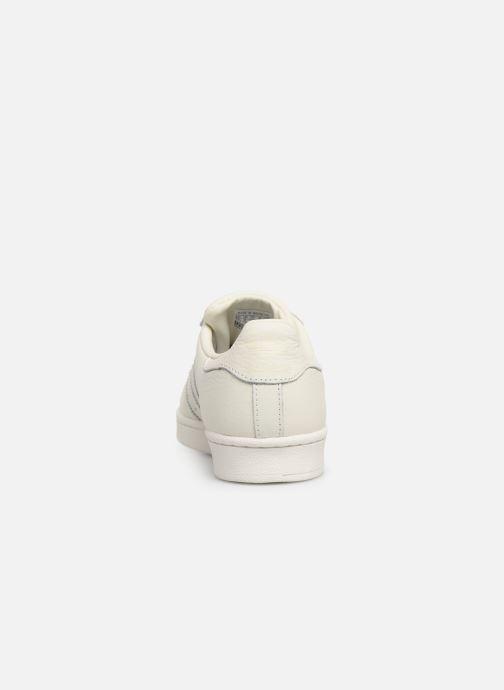 Sneaker adidas originals Superstar W weiß ansicht von rechts