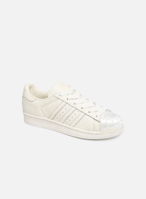 Baskets adidas originals Superstar W Blanc vue détail/paire