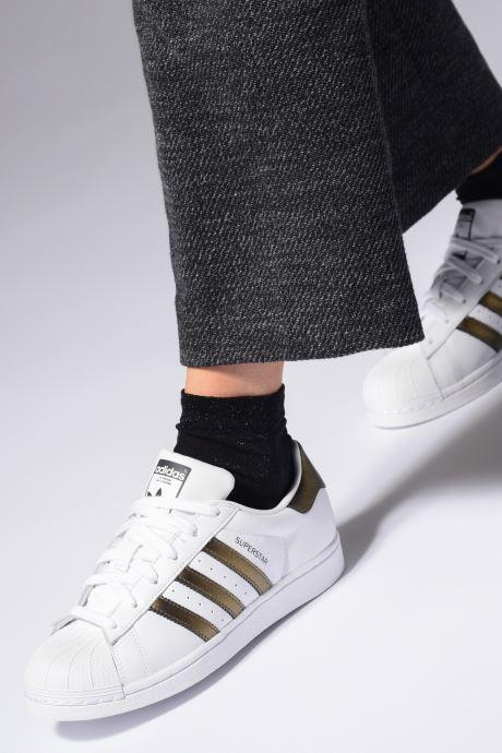 Sneakers adidas originals Superstar W Zwart onder