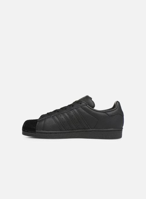 Sneakers adidas originals Superstar W Zwart voorkant