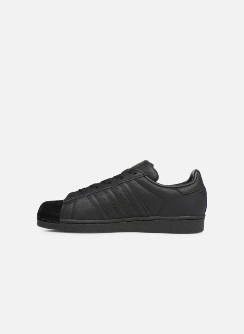 Deportivas adidas originals Superstar W Negro vista de frente