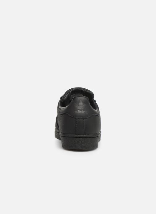 Sneakers adidas originals Superstar W Zwart rechts