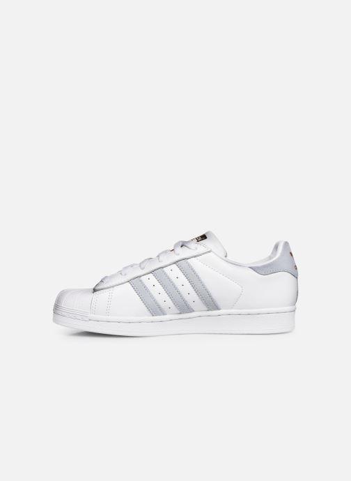 Baskets adidas originals Superstar W Blanc vue face