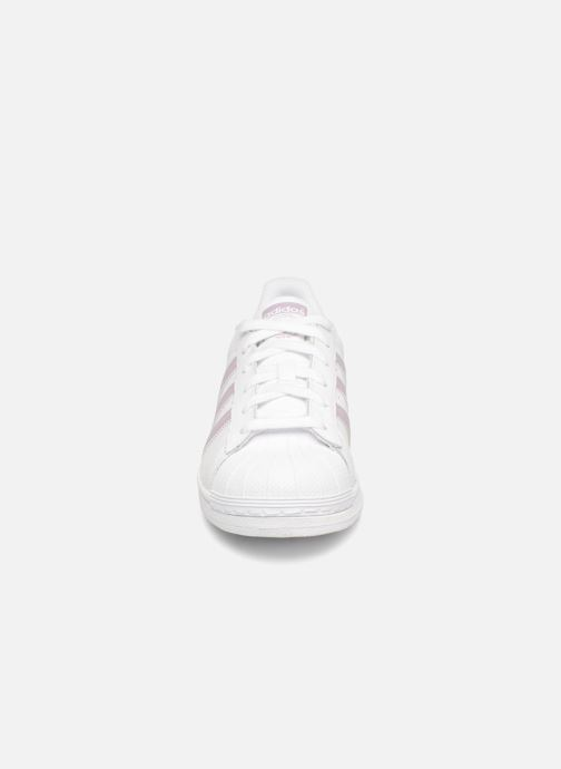 Trainers adidas originals Superstar W White model view