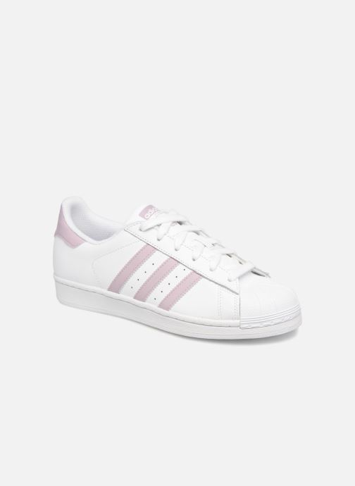 Trainers adidas originals Superstar W White detailed view/ Pair view