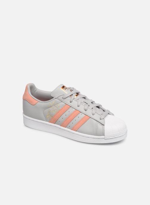 adidas originals Superstar W (Grå) Sneakers på Sarenza.se