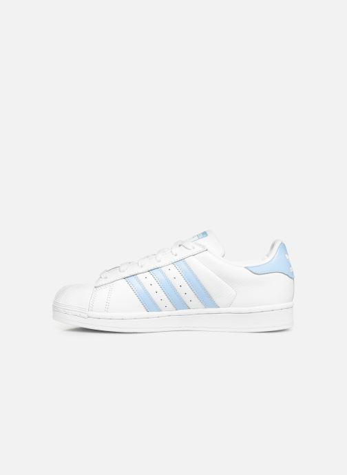 Sneakers adidas originals Superstar W Hvid se forfra
