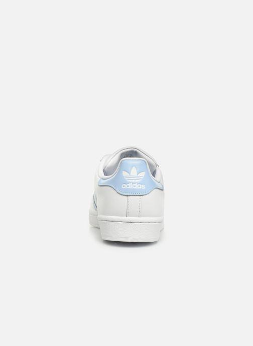 Sneakers adidas originals Superstar W Hvid Se fra højre