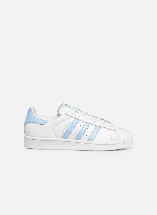 Deportivas adidas originals Superstar W Blanco vistra trasera
