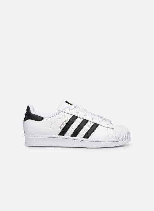 Sneakers adidas originals Superstar W Wit achterkant
