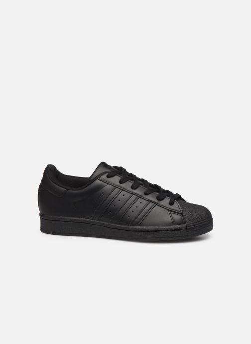 Sneaker adidas originals Superstar W schwarz ansicht von hinten