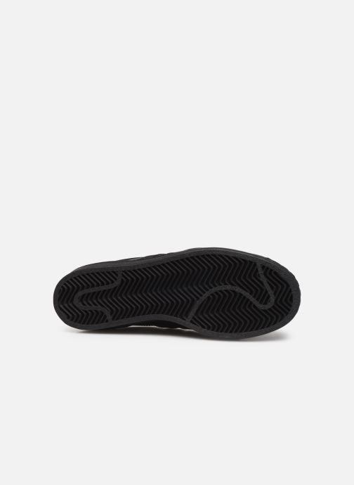 Sneaker adidas originals Superstar W schwarz ansicht von oben
