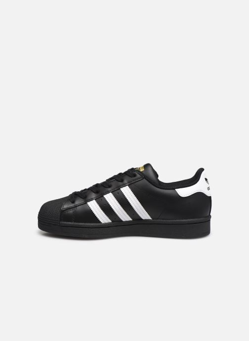 Sneakers adidas originals Superstar W Zwart voorkant