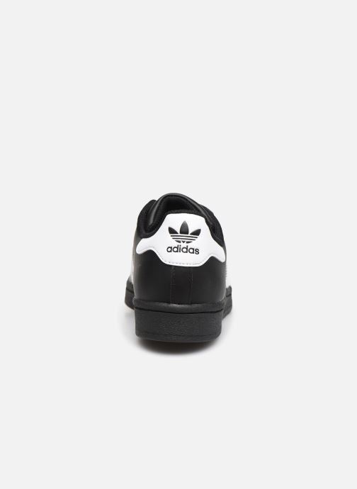 Sneakers adidas originals Superstar W Nero immagine destra