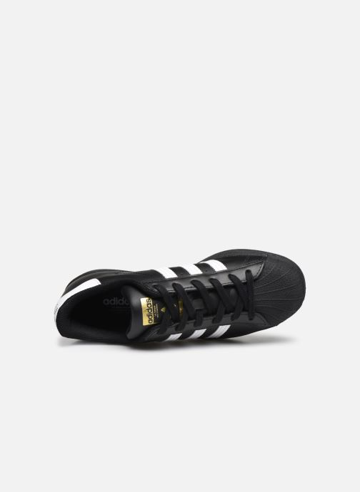 Sneakers adidas originals Superstar W Nero immagine sinistra