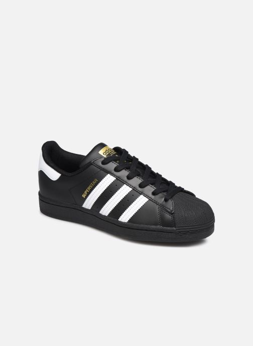 Baskets adidas originals Superstar W Noir vue détail/paire