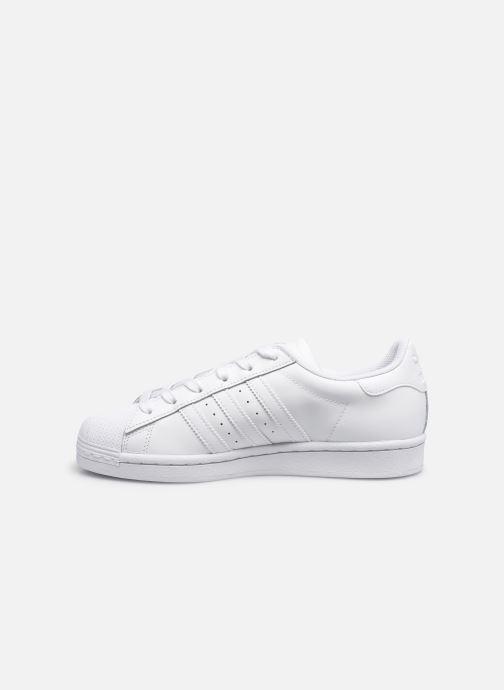Sneaker adidas originals Superstar W weiß ansicht von vorne