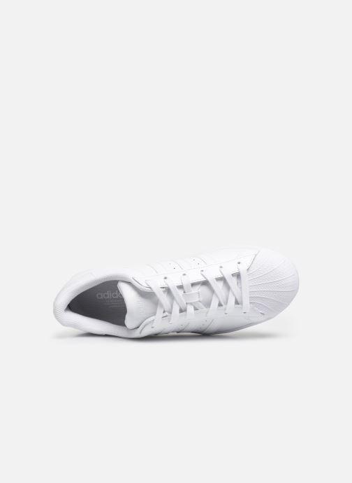 Sneaker adidas originals Superstar W weiß ansicht von links