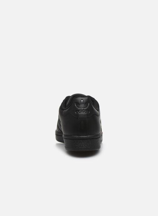Sneaker adidas originals Superstar W schwarz ansicht von rechts
