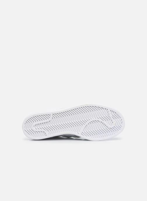 Baskets adidas originals Superstar W Blanc vue haut