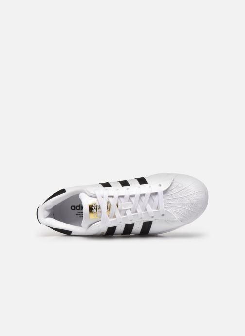 Sneakers adidas originals Superstar W Wit links