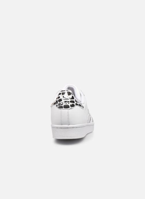 Sneakers adidas originals Superstar W Bianco immagine destra