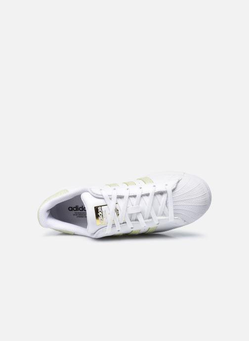 Sneakers adidas originals Superstar W Hvid se fra venstre