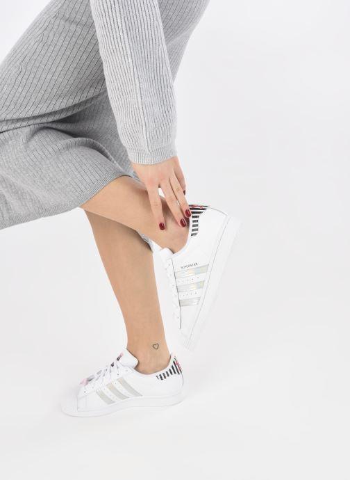 Sneakers adidas originals Superstar W Bianco immagine dal basso