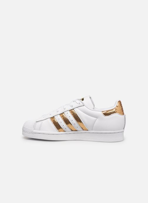 Sneakers adidas originals Superstar W Bianco immagine frontale