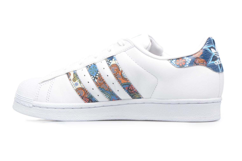 Baskets Adidas Originals Superstar W Multicolore vue face