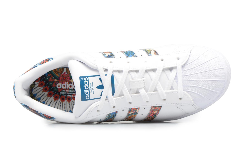 Baskets Adidas Originals Superstar W Multicolore vue gauche