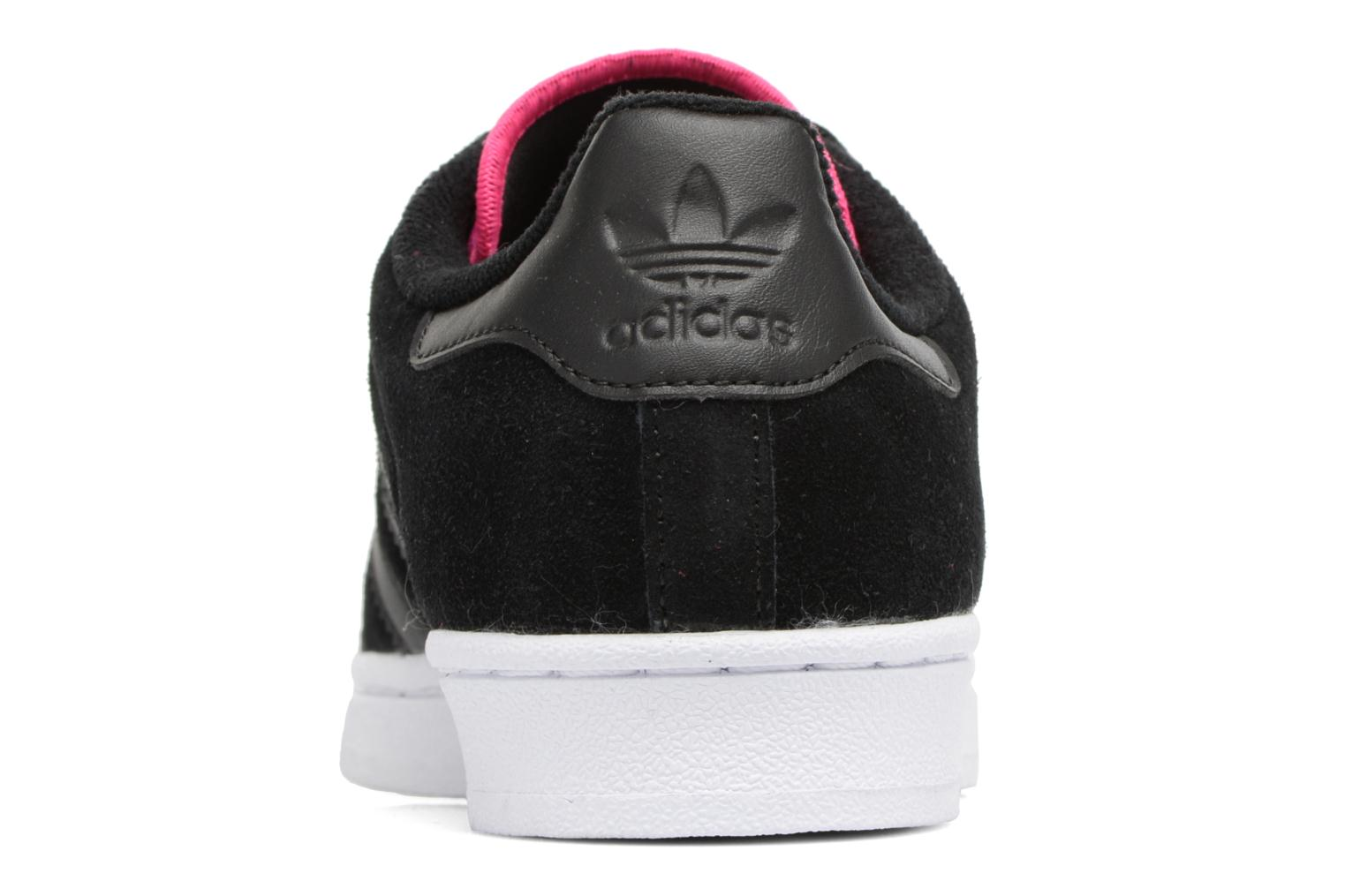 Baskets Adidas Originals Superstar W Noir vue droite