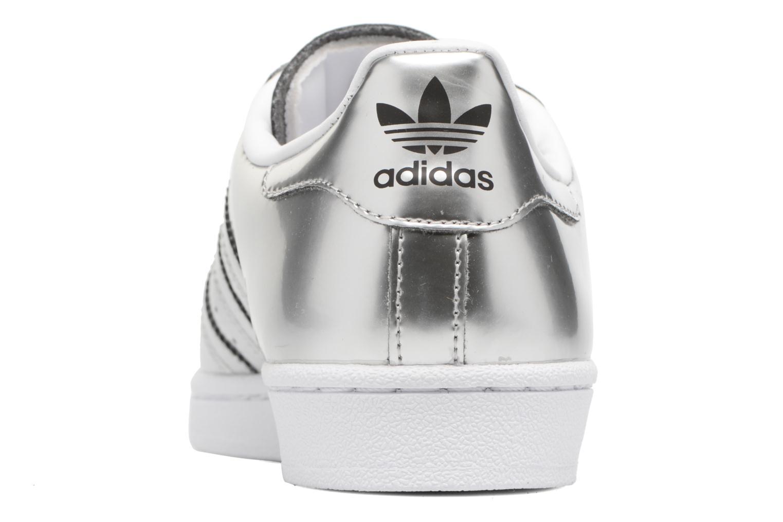 Baskets Adidas Originals Superstar W Orange vue droite