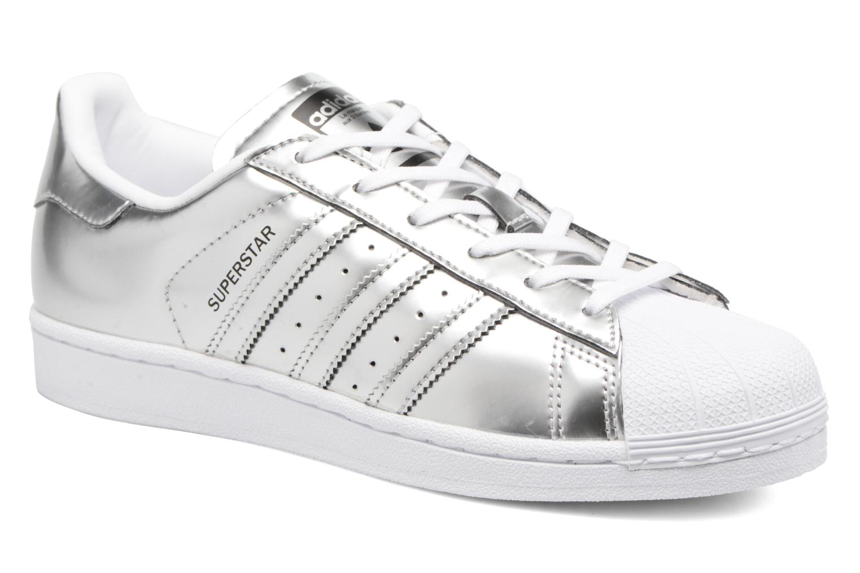 Baskets Adidas Originals Superstar W Orange vue détail/paire