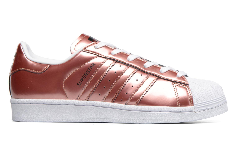 Deportivas Adidas Originals Superstar W Oro y bronce vistra trasera