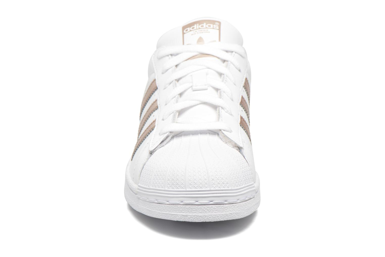 Sneaker Adidas Originals Superstar W weiß schuhe getragen