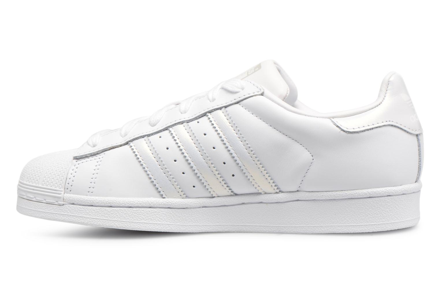 Sneakers Adidas Originals Superstar W Bianco immagine frontale