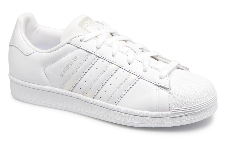 2fb17b9fa36d4 Adidas Originals Superstar W (Blanc) - Baskets chez Sarenza (335046)