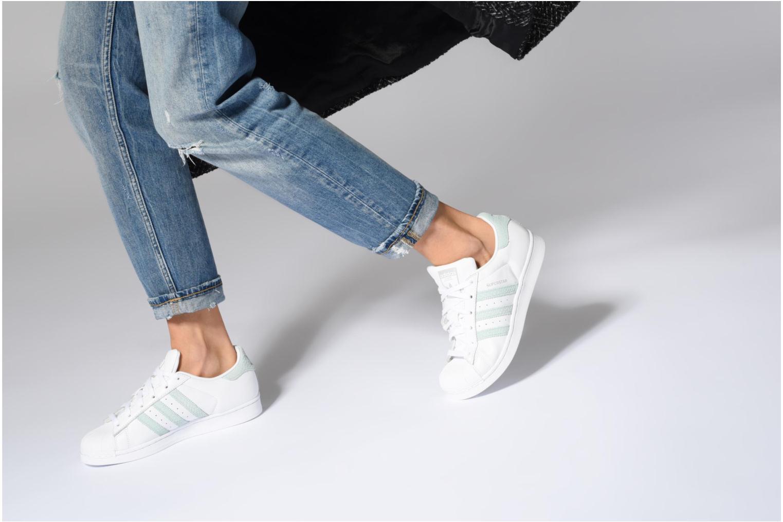 Sneakers Adidas Originals Superstar W Nero immagine dal basso