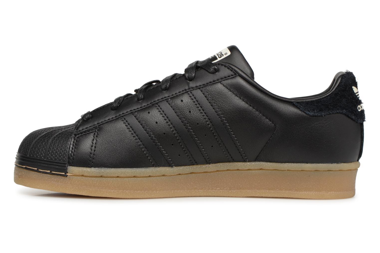 Sneakers Adidas Originals Superstar W Nero immagine frontale