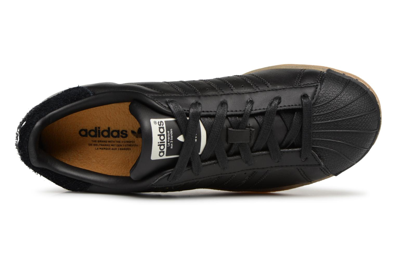 Sneakers Adidas Originals Superstar W Nero immagine sinistra