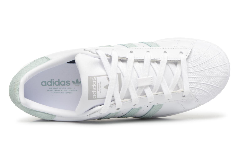 Adidas Originals Superstar W Más (Blanco) - Deportivas en Más W cómodo Gran descuento 4e800c