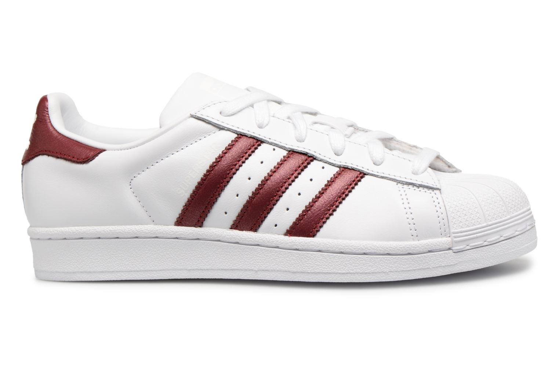 Sneakers Adidas Originals Superstar W Bordò immagine posteriore
